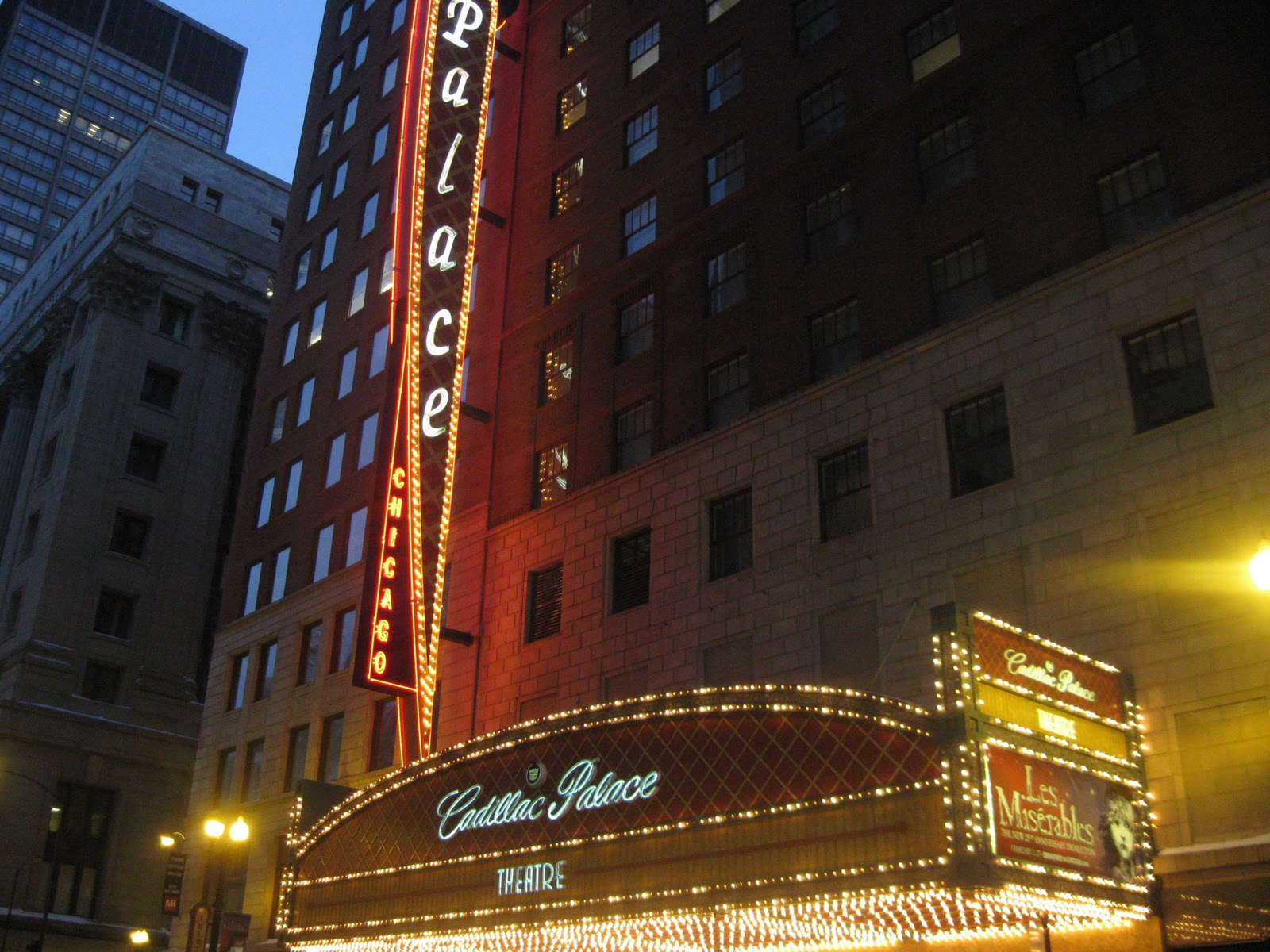 Cadillac Palace Theatre Information