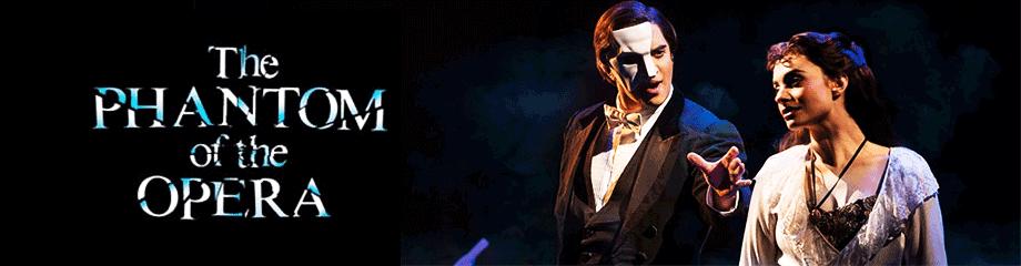 Phantom of The Opera at Cadillac Palace Theatre