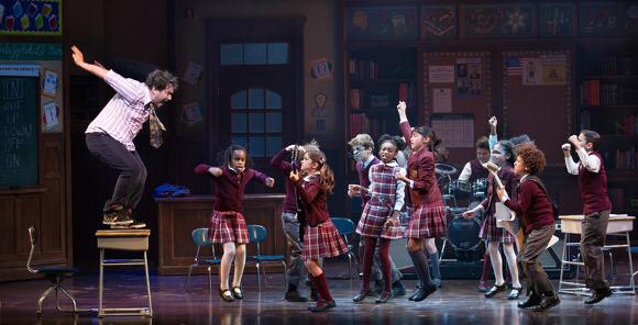 school of rock musical live tickets broadway
