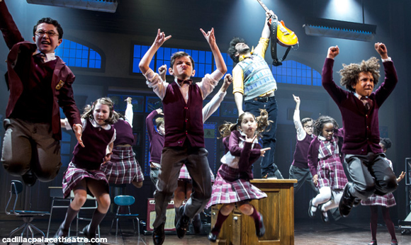 school of rock cadillac palace theatre tickets