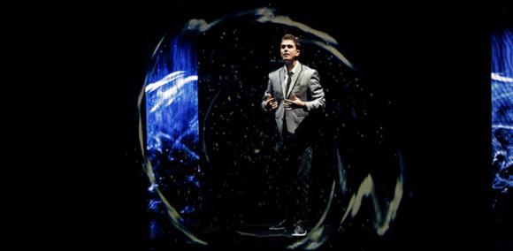 Adam Trent at Cadillac Palace Theatre