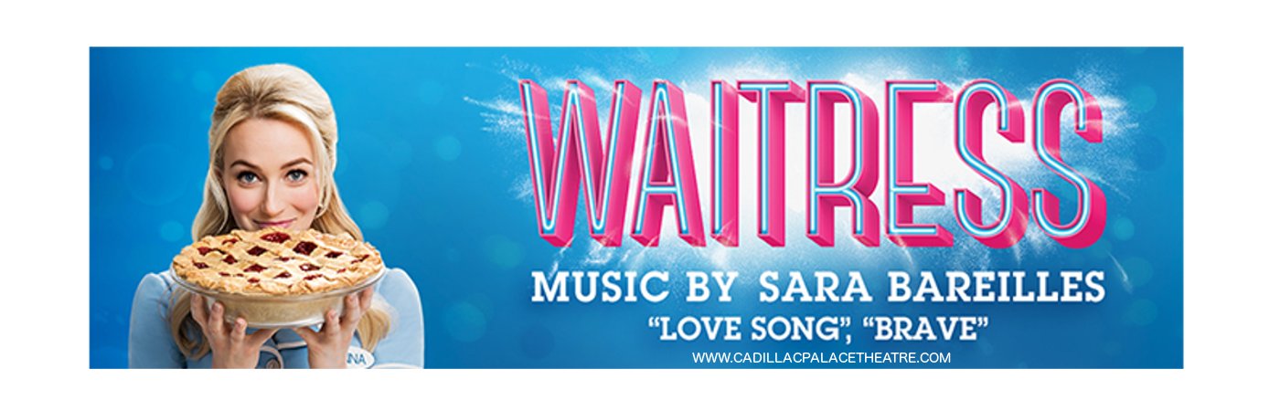 waitress musical cadillac palace theatre