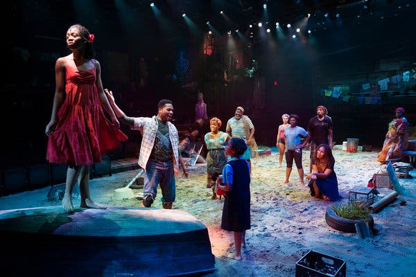 Once On This Island at Cadillac Palace Theatre