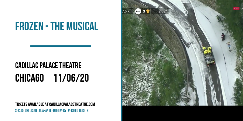 [CANCELLED] at Cadillac Palace Theatre