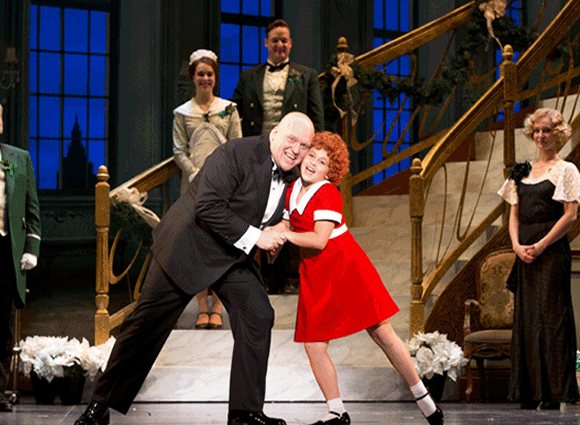 Annie at Cadillac Palace Theatre