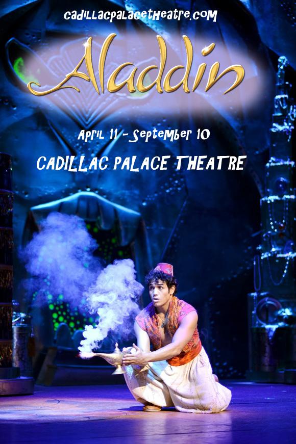 aladdin cadillac palace theatre tickets