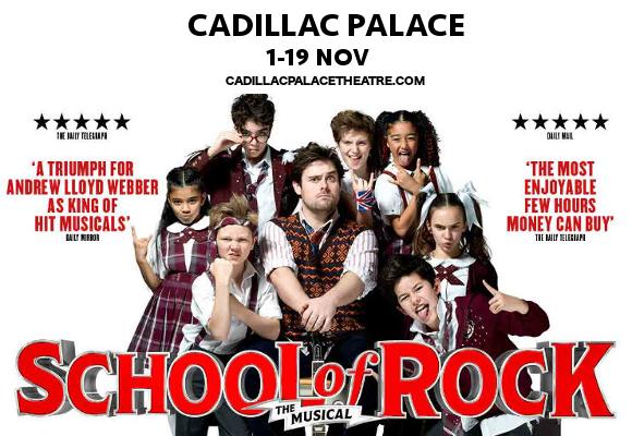 school of rock musical broadway tickets