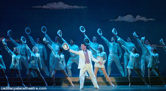 white christmas broadway musical cadillac palace theater
